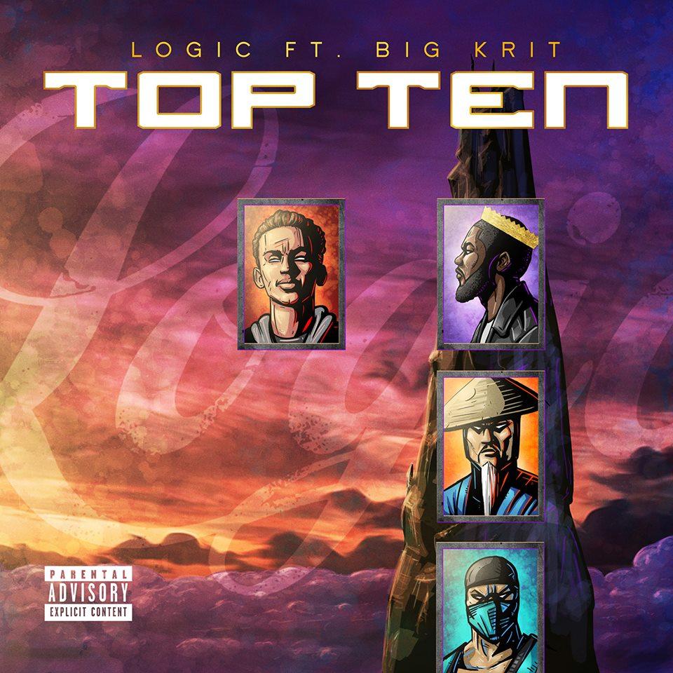 "Logic ""Top Ten"" Featuring Big K.R.I.T. [Prod. By: 6ix]"